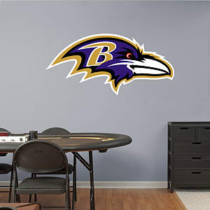 Baltimore Ravens Logo Fathead Wall Decal